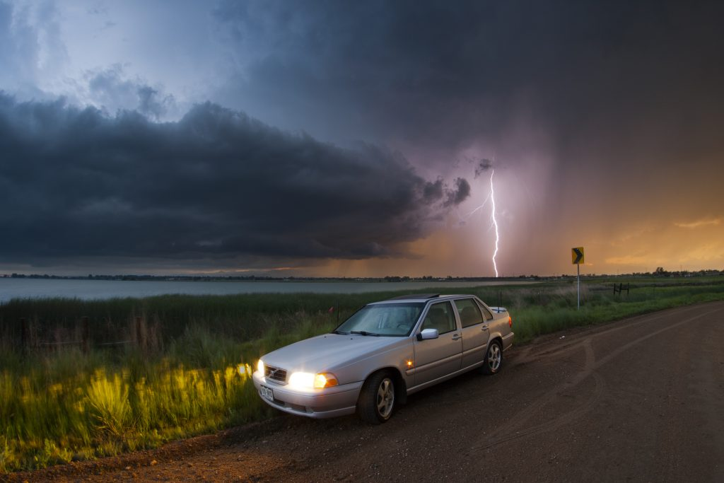 Is a Car Really a Safe Place to Be When Lightning Strikes?