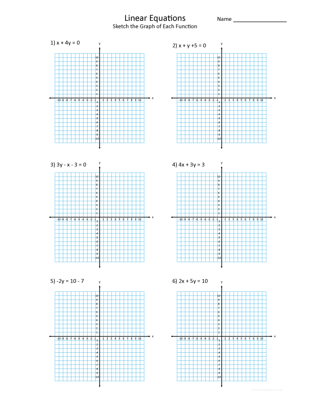 graphing linear functions worksheet pdf graphing a linear function students are asked to graph. Black Bedroom Furniture Sets. Home Design Ideas